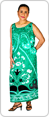 Beautifully flattering sleeveless midi-maxi kaftan in Class A Rayon fabric