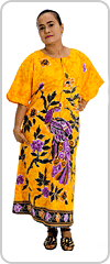 New Style Birds of Paradise kaftan dress